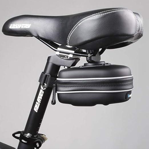HUAA Bolsa de Sillín para Bicicleta con Herramientas ...