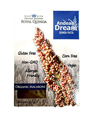 Andean Dream Quinoa Pasta, Og, Macar, Gf, 8-Ounce (Pack of 6) by Andean Dream