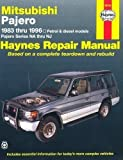 Mitsubishi Pajero Australian Automotive Repair Manual: 1983-1996 (Haynes Automotive Repair Manuals) by Warren, Larry, Haynes, J. H. 2nd (second) Revised Edition (2000)