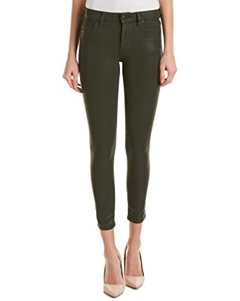 b491abbb12 Amazon.com: Joe's Jeans The Icon Skinny Ankle Coated Mid Rise Pants ...