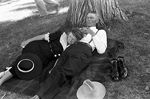 Used, Oregon Couple 1941 Na Couple Relaxing On A Blanket for sale  Delivered anywhere in USA