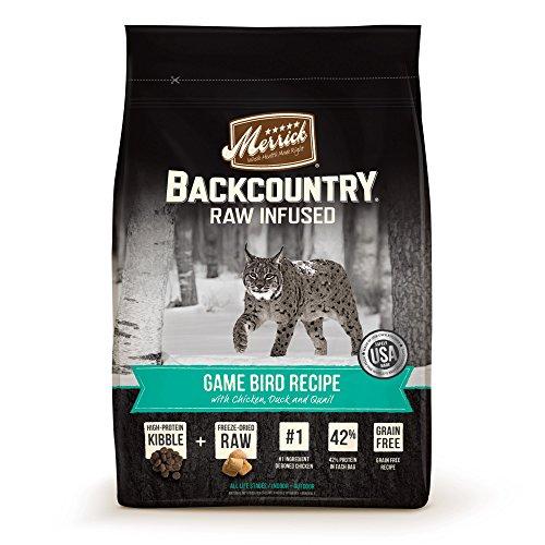 Merrick Backcountry Game Bird Recipe Dry Cat Food, 6 lb.