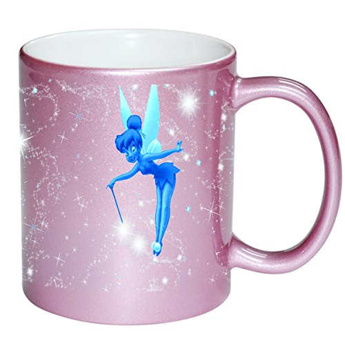Frost Coffee (Cute Frost Fairy Design Print Image PINK 11 ounce Ceramic Coffee Mug Tea Cup by Trendy Accessories)