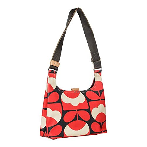 dcc9f66865a Orla Kiely 'Spring Bloom' Ruby Red Vinyl Mini Sling Shoulder Cross Body Bag:  Amazon.co.uk: Shoes & Bags