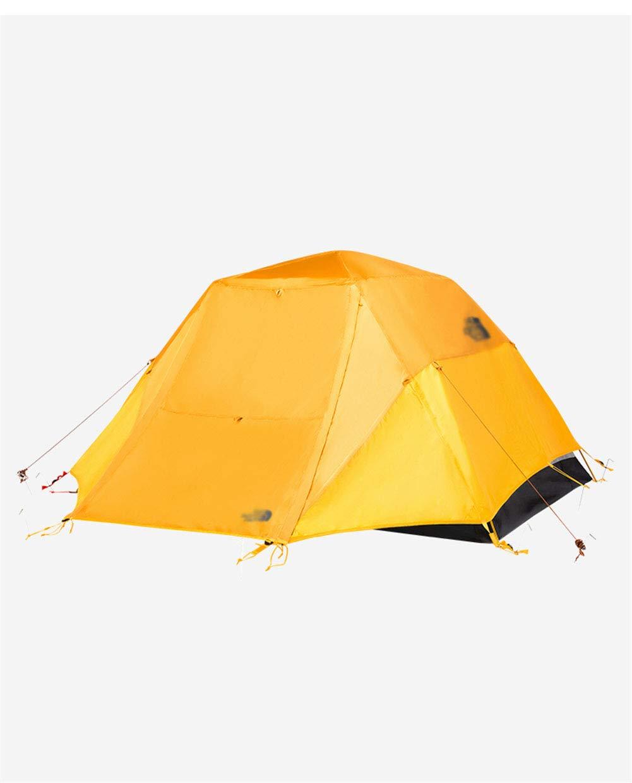 Yuhong Zelt, Wasserdichte Outdoor-Zelte 3-4 Person Double Layer Rain-Proof Camping 4 Seasons Beach Kletterzelte