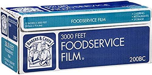 Daily Chef フードサービスフィルム 12インチ x 3,000フィート  2-Pack