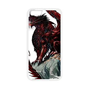 Ancient Dragon iPhone 6 4.7 Inch Cell Phone Case White 218y-738357