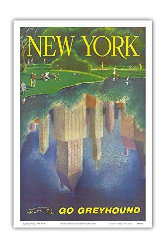 Pacifica Island Art New York, USA - Manhattan on The Lake...