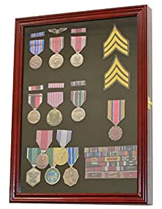 Amazon Com Medal Pin Patch Insignia Ribbon Display Case