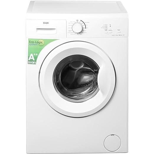 Svan lavadora carga frontal 1000rpm a+ 5kg svl510.: Amazon.es: Hogar