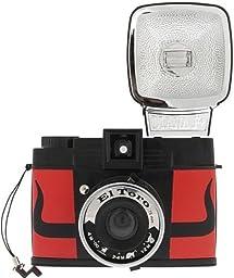 Lomography Diana F+ El Toro Camera, Red w/ Flash 582