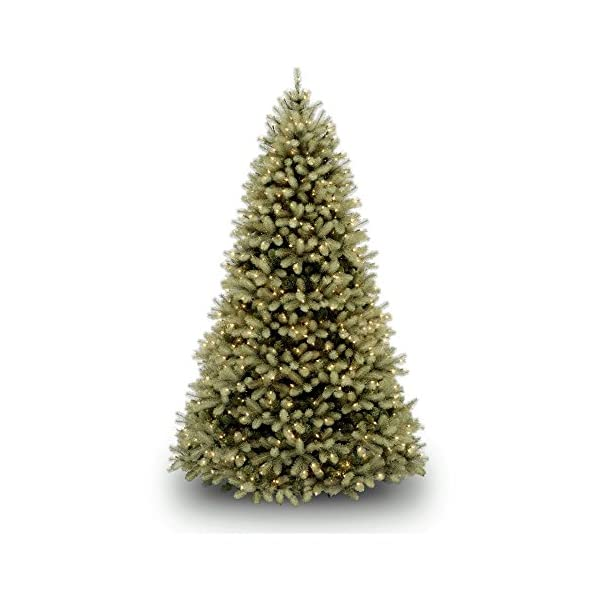National-Tree-Feel-Real-Down-Swept-Douglas-Fir-Hinged-Tree-with-1000-Low-Voltage-Dual-LED-Lights