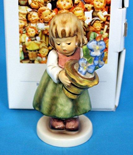 Hummel Goebel 341/3/0 - Birthday Present girl with flower pot tmk