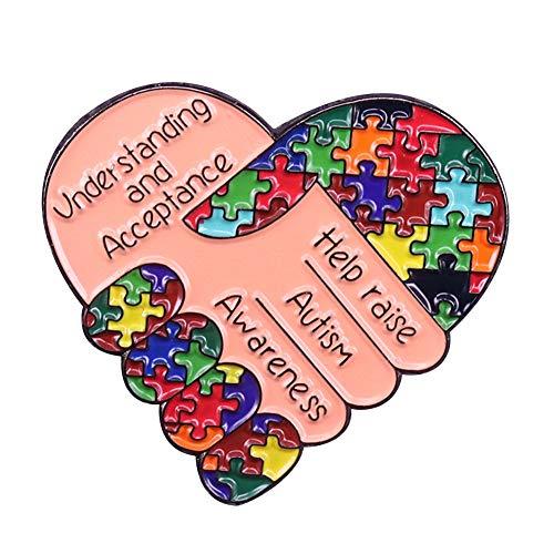 GuDeKe Help Raise Autism Awareness Pin -