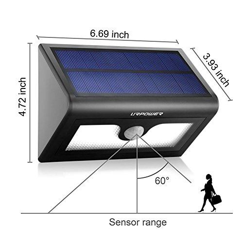 Urpower Solar Lights 50 Led Solar Powered Wireless