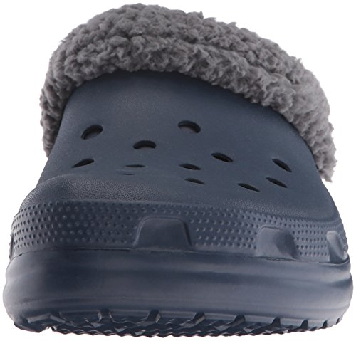 Adulto Zuecos Mammoth navy Classic Blu 203596 Clog charcoal Lined Crocs Unisex 0PqAXw