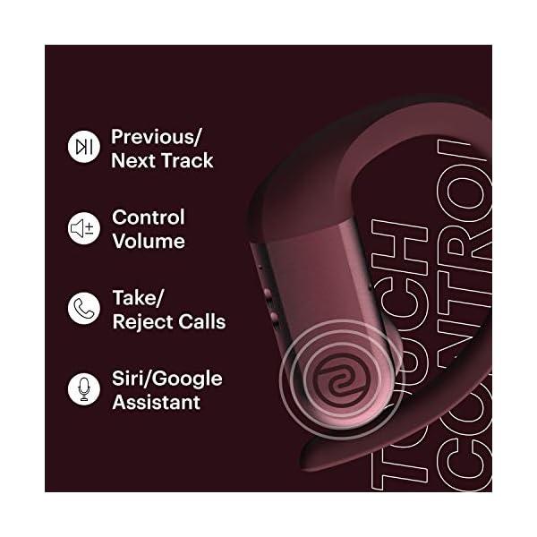 Noise Shots Rush Headphones Wine Red India 2020