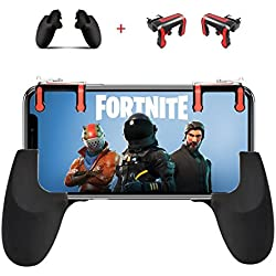 Mobile Game Controller and Gamepad, Sensitive Shoot and Aim Trigger Fire Buttons