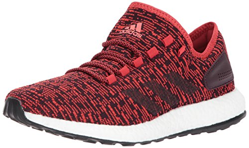 Adidas Golf Sandals - adidas Men's Pureboost, Tactile Red/Dark Burgundy/Black, 10.5 Medium US