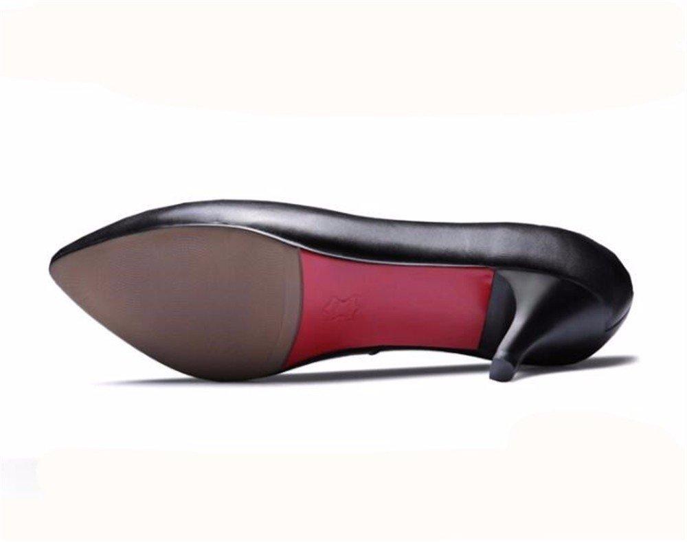 HXVU56546 Drei Stil Sehr Sehr Sehr Spitze Schuhe Mit Hohen Absätzen Mit Einer Großen Zahl Von Beruflichen Frauen Schuhe Einzelne Schuhe f36eb5