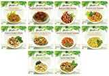 PlantPure Mild/Comfort Collection Pack of 20 Vegan Plant Based Frozen Entrees (Two of each entree)