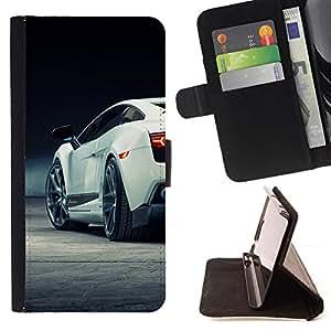 Jordan Colourful Shop - Sexy Lambo Car Galardo For Apple Iphone 4 / 4S - Leather Case Absorci???¡¯???€????€?????????&Atild