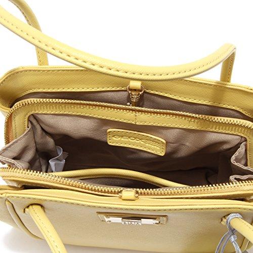 Bag Yellow Giallo Respira Ecopelle Woman Donna Geox 6182u Borsa xgw1q1fH0