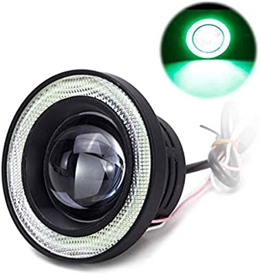 Gankmachine COB 2pcs 3200lm Coche LED Angel Eyes Niebla De La ...