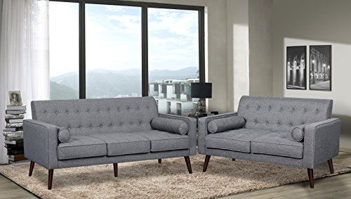 Container Furniture Direct S5303-S+L Valadez Linen Upholster
