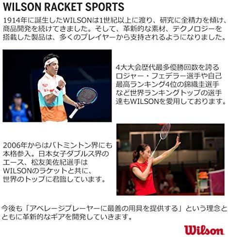 Wilson Natural Gut /& Luxilon ALU Po Wilson Champion Choice Hybrid tennis string