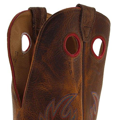 western western western Tan Boulet Boulet Boulet 0213 Stivali Buffalo uomo EEqgH