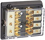 Absolute AGD24G 4 Gang Gold AGU Fuse Distribution Block