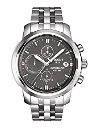 Tissot Men's T0144271108100 PRC200 Automatic Grey Chronograph Dial Watch