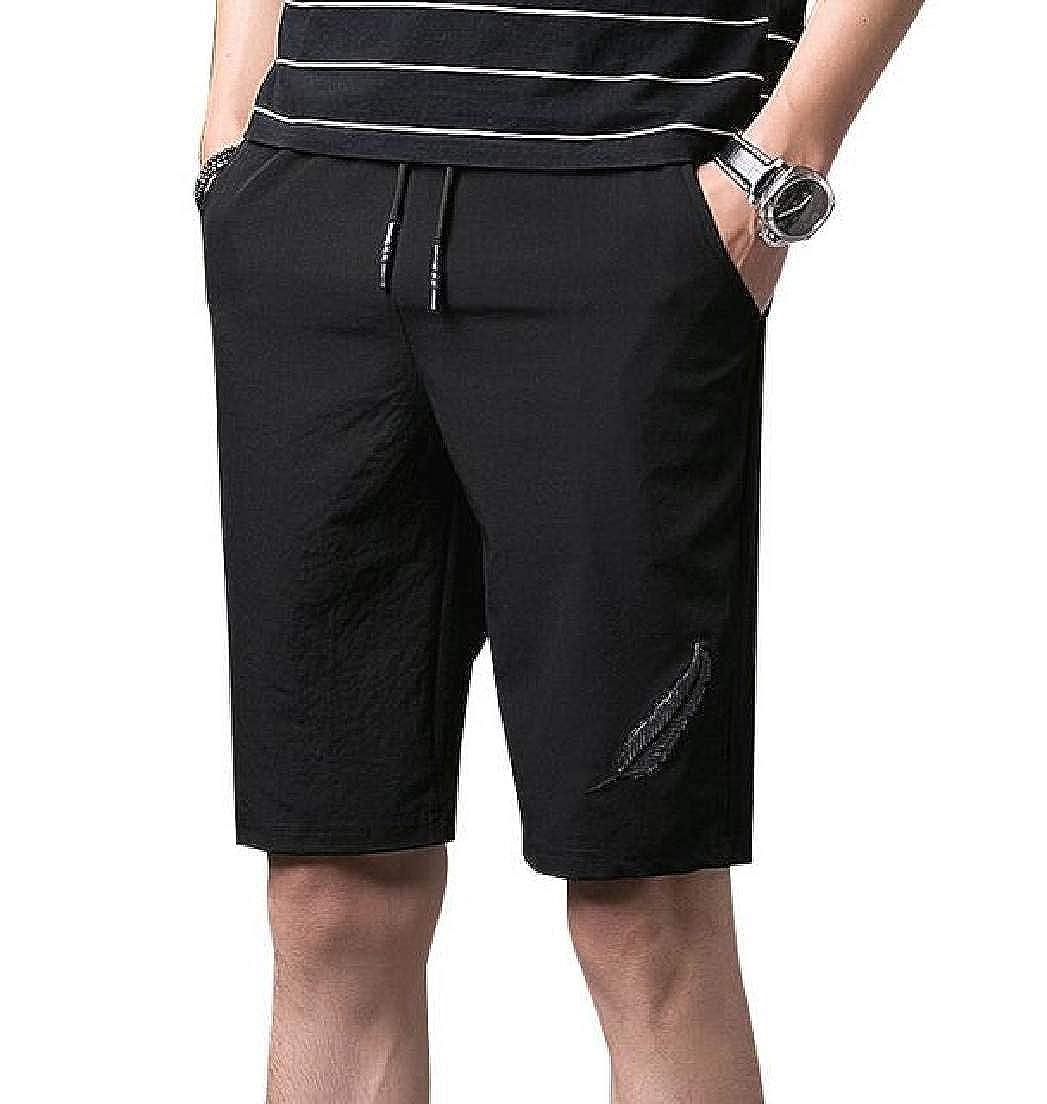 X-Future Mens Stretchy Quick Dry Drawstring Beach Shorts Boardshort