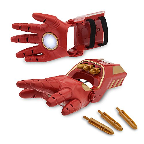 Marvel Iron Man Repulsor Gloves (Iron Man Hands)