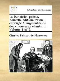 La Dunciade par Palissot De Montenoy