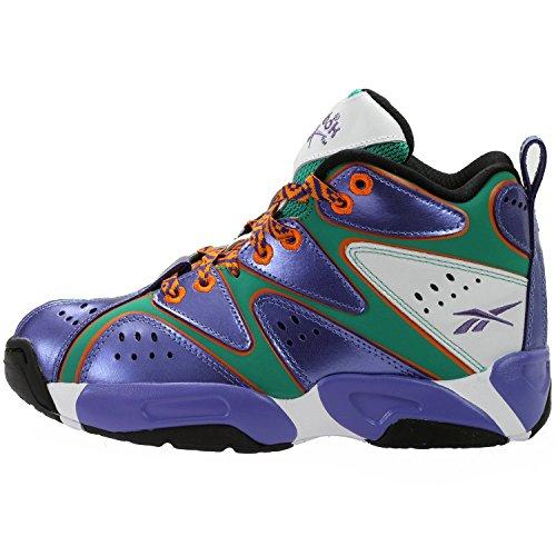 Reebok Kamikaze I Mid MSH  Big Kid's Basketball Shoe M41779,