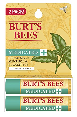 burts-bees-100-natural-medicated-moisturizing-lip-balm-with-menthol-eucalyptus015-ounce-2-tubes