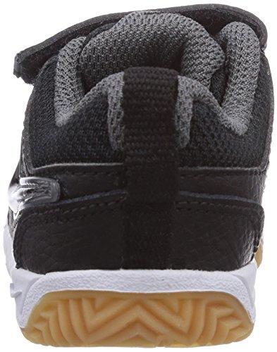 Nike Lykin 11 (TDV) Zapatillas, Bebé-niños Negro / Blanco / Marrón (Black / Black-White-Gm Lght Brwn)
