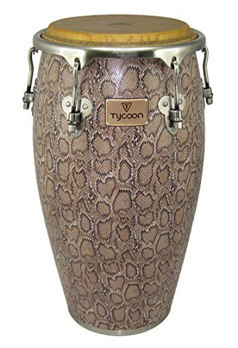 (Tycoon Percussion MTCF-130BCF5 12-1/2 Inch Master Series Conga with Single Stand, Boa Finish)