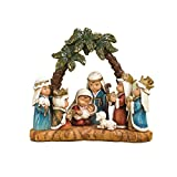 WoodWorks ''Pageant'' Nativity Figurine, Features Children as The Main Characters, 6-Inch