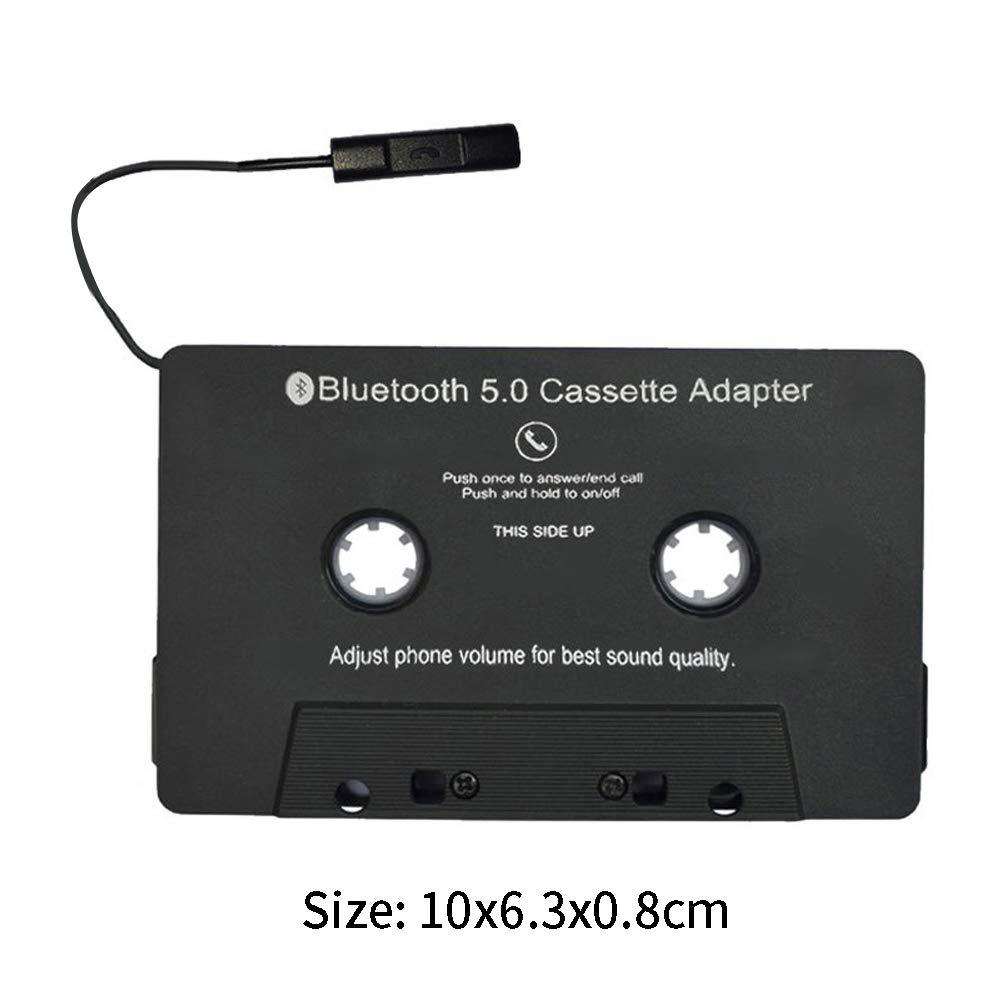 Universal Tape Player Bluetooth 5.0 Cassette Adapter USB Charging GEZICHTA Car Audio Bluetooth Cassette Receiver
