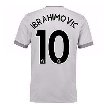 20Zlatan Ibrahimovic 107-20Zlatan Ibrahimovic 108 Man United Third Football  Soccer T-Shirt Maillot 4c87325d5
