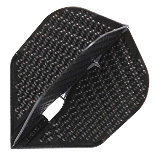 L-style L3d Shape Dimple Champagne Dart Flights - Black
