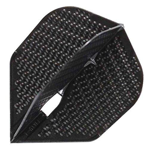 L-style L3d Shape Dimple Champagne Dart Flights -Black