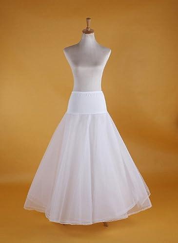 PJ enagua de la boda accesorios de la boda Enaguas Falda paseo nupcial Lycra una línea de vestido de...