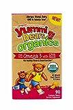 omega 3 gummies for kids organic - Yummi Bears Organics Omega 3 Gummy Vitamin Supplement for Kids, 90 Count