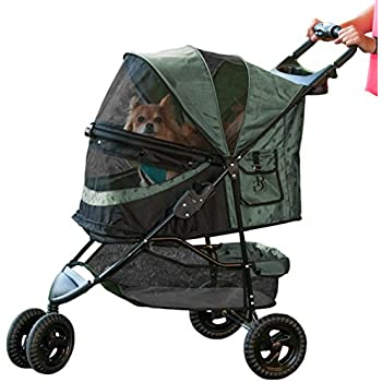 Pet Gear No-Zip Special Edition Pet Stroller, Sage