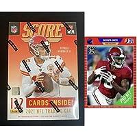 $90 » 2021 Panini Score Football Sealed Blaster 132 Card Box Look for autograph and memorabilia Trevor Lawrence Rookie + bonus leaf pro set…