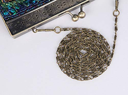 Tracolla Mini Borsa Pochette argento Da Argento centimetro Banchetti Sposa Sera Diagonale Lladies Per Borsetta Sera Wfl A qCwOHvt